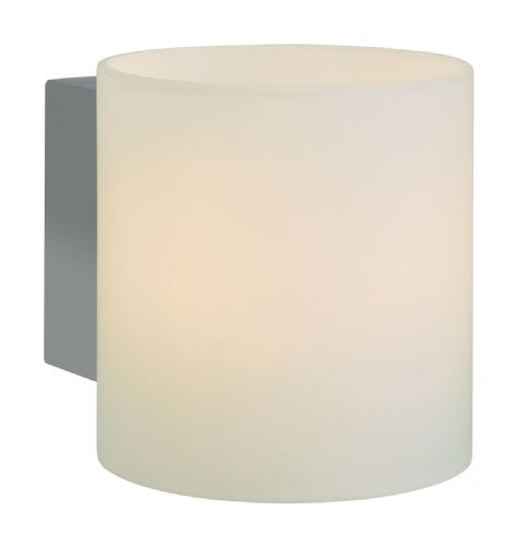 Firstlight 3326CH Chrome with Opal Glass Alto Single Wall Light